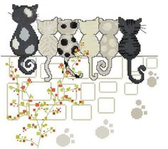 Kit de bordado de punto de cruz amor de seis gatos (DMC hilo del bordado) k744 (jap?n importaci?n) GAMBARU SHOP http://www.amazon.es/dp/B00EN8XFKM/ref=cm_sw_r_pi_dp_tRQVwb15A259H