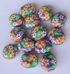 Polymer clay beads | by K. Hernandez - Polymer Clay Art