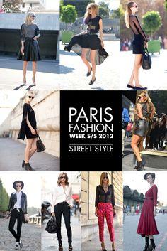 PARIS FASHION WEEK S/S 2012 | STREET STYLE