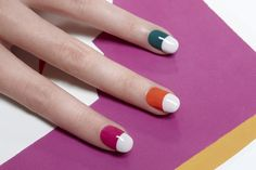 Colorful Spring Nail