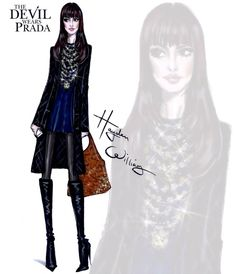 The Devil Wears Prada collection by Hayden Williams: Andy Sachs