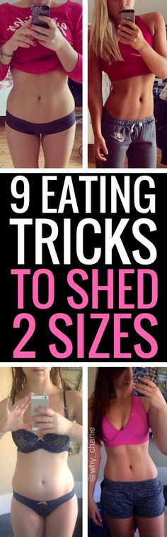 9 eating tricks to shed 2 dress sizes for good.