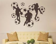 Wandtattoo Fußball                                                                                                                                                                                 Mehr