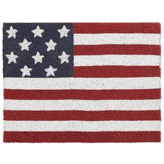 Beaded Flag Placemat | Pier 1 Imports