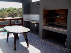 parrillas modernas - Buscar con Google Parrilla Exterior, Outdoor Furniture, Outdoor Decor, Home Decor Inspiration, New Homes, Decking, Porches, Google, Kitchen