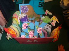 basket for little full of lilly letters!