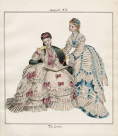 Casey Fashion Plates Detail | Los Angeles Public Library The Queen Date: