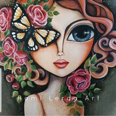 Art Painting Gallery, Eye Painting, Fabric Painting, Small Canvas Art, Diy Canvas Art, Big Eyes Paintings, Kalamkari Painting, Poster Background Design, Character Design Girl