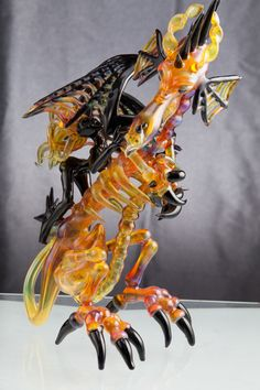 Dragonslayer from Night with Borosilicate sponsored by Hot Glass Color
