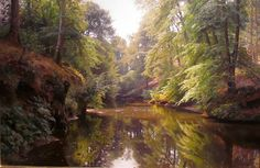 Gurney Journey: Monsted's painterly suggestion of foliage