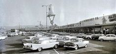 Christmas at the West Covina Plaza in 1957