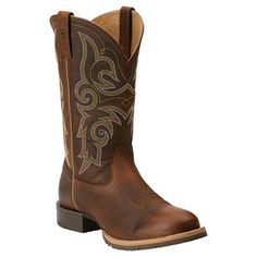 Ariat Women's Hybrid Rancher Round Toe Western Boots  good combination of cute and functional for the farm