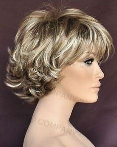 Image result for short layered hair wigs