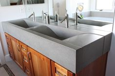 Concrete Bath Sinks by Sonoma Cast Stone