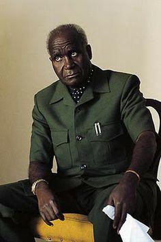 Kenneth Kaunda 1st president of Zambia