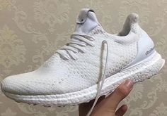 81ff60e0ad2ad Ma Maniere Invincible adidas Sneaker Exchange Ultra Boost White Wool