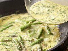 Spargel-Basilikum-Omelett Zubereitung Schritt 7