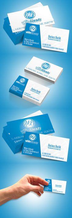 Projekt klasycznej i nowoczesnej wizytówki.   Design of classical and modern business card.