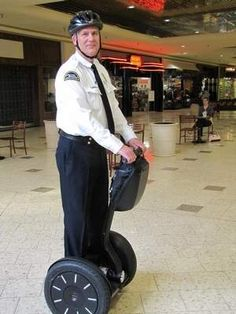 Mall's Segway PT attracts curious