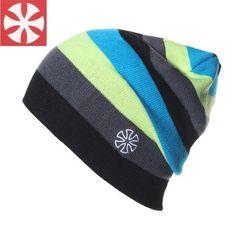 B3 Rainbow Stripes Winter Unisex Beanies