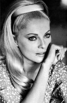 Virna Lisi - A famous actress and a very elegant and classy woman