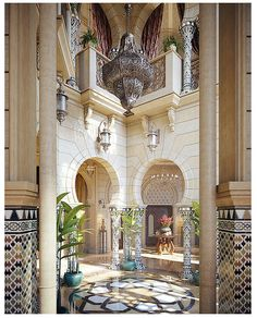 Stunning luxury interior design ideas from modern boutique hotels. Lobby, bedroom, stairways and entryways, a room by room guide to finding inspiration with the best interior architecture from world renowned hotels. Moroccan Design, Moroccan Decor, Moroccan Style, Moroccan Bedroom, Moroccan Lanterns, Moroccan Chandelier, Ethnic Design, Patio Interior, Interior And Exterior