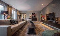 Luxury Dinning Room, Living Room Lounge, Small Living Rooms, Home Living Room, Living Room Decor, Home Room Design, Interior Design Living Room, Living Room Designs, House Design
