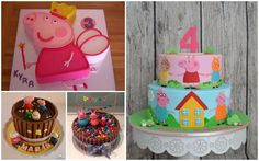 Celebra una fiesta de cumpleaños Peppa Pig a lo grande Tortas Peppa Pig, Cumple Peppa Pig, Third Birthday, Birthday Cake, Birthday Parties, Party Themes, Party Ideas, Birthday Party Invitations, Birthdays