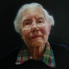 Another favourite from this year's BP Portrait Award. By Leslie Watts.