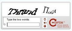 GÜVENLİK İnternetteki en yaygın doğrulama testi olan CAPTCHA, insan olduğunuzu denetlemek için kulla