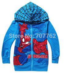 Online Shop Spiderman coats for children Clothes 2014 Children's Coat boys hoodie jackets Kids cartoon baby zipper coat &outerwear|Aliexpress Mobile