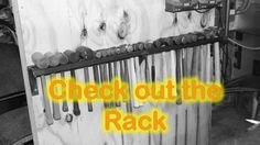 DIY Home Decorations Blog  Making a Wall Mount Hammer Rack  https://www.youtube.com/watch?v=WGgvoRpXtxc