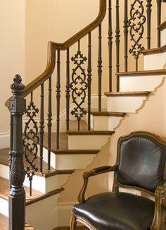 Ellen Grasso Inc - traditional - staircase - dallas - Ellen Grasso & Sons, LLC