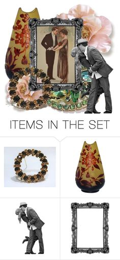Show-Off by pattysporcelainetc on Polyvore featuring art and vintage