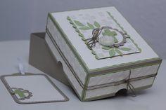 Geschenkbox für Kommunion oder Konfirmation - Stampin' Up!