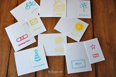 Custom Letterpress with Lifestyle Crafts | NoBiggie