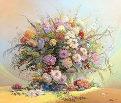 Flower Blues. The artworks. Panin Sergey . Artists. Paintings, art gallery, russian art
