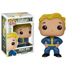 This is a Fallout Vault Boy POP Vinyl Figure that is produced by the nice folks over at Funko. The Vault Boy is character from the Fallout video game franchise. It's always good when Funko decides to