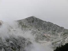 Grintovec in megla