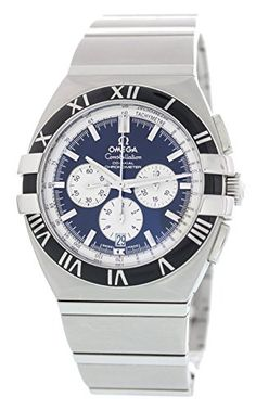 Omega Double eagle Constellation swissautomatic mens Watch 15195100 Certified Preowned -- Want additional info? Click on the image. Note: It's an affiliate link to Amazon #watchesforme