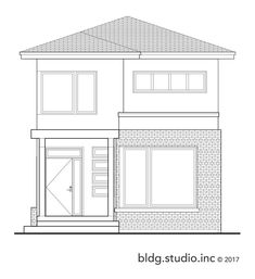 Type: Two Storey Bedrooms: 3 Baths: Legal Secondary Suite Areas: * Basement: 850 sq ft * Floor: 850 sq ft * Floor: ft * Total Living Area: 1649 sq ft Width: Depth: Minimum Lot Width: wide Brick Roof, Narrow House Plans, Simple House Design, Container House Plans, Micro House, 2nd Floor, Living Area, Floor Plans, Urban
