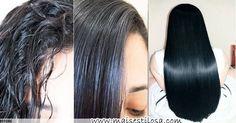 Alisamento natural com babosa. Além de alisar na hora, essa receita caseira também faz o cabelo crescer mais rápido. CLIQUE AQUI e aprenda como fazer.