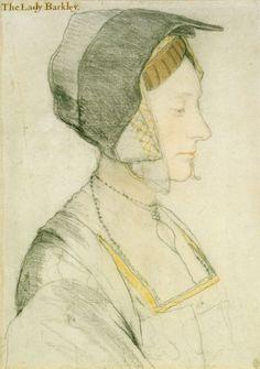 Portrait study of Elizabeth Dauncey. c.1527