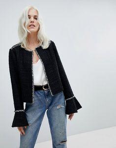 Vero Moda Jacket with Fluted Sleeve