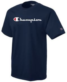 Champion Men's Logo T-Shirt - Black 2XL