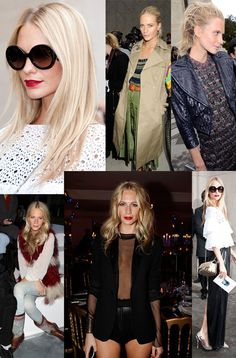 Poppy Delevigne - I adore! Some very cute outfits here, ladies.
