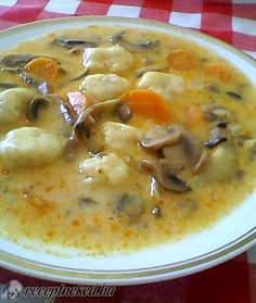 Érdekel a receptje? Kattints a képre! Easy Cooking, Cooking Recipes, Hungarian Recipes, Slow Cooker Soup, Healthy Soup Recipes, Other Recipes, Soups And Stews, Food To Make, Food Porn