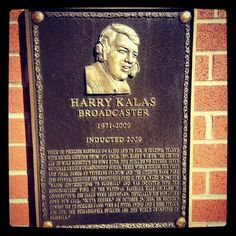 Harry Kalas, Hall of Fame broadcaster, was inducted into the Phillies Wall of Fame in 2009.