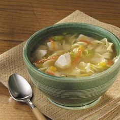 Amish Chicken Corn Soup - THIS is what is on my stove at the moment. It's our Frankenstorm food.