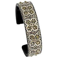 Nano cuff - Eyelets - Debbie Brooks Product. New at Bohland Jewelers!